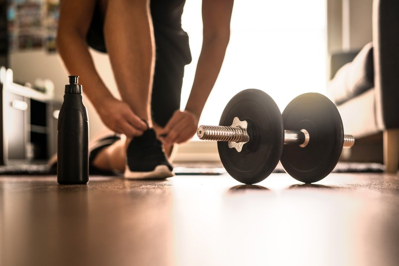 How to Make an Awesome At Home Gym