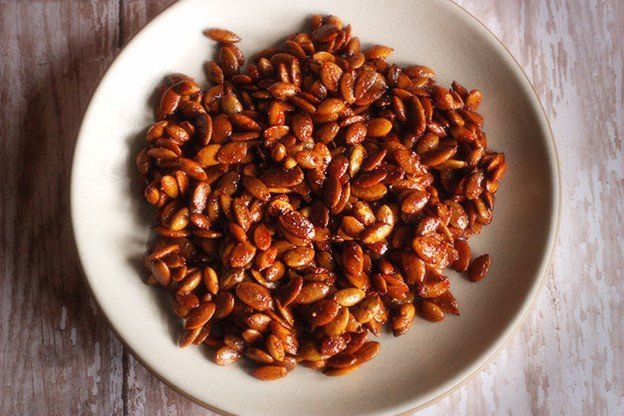 Honey Roasted Pumpkin Seeds Recipe
