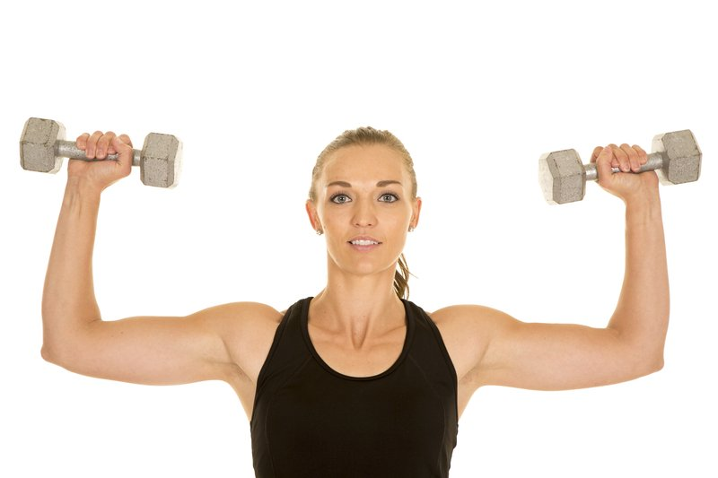Shoulder Press for Sexy Arms